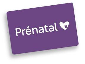 Prenatal-Cadeaukaart
