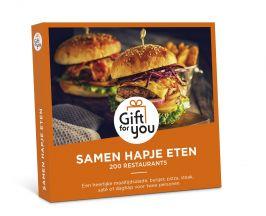 Gift For You Samen Hapje Eten