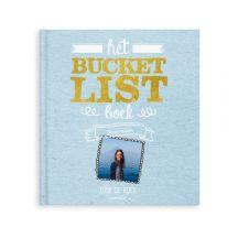 Het Bucketlistboek voor op reis