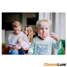 Foto op aluminium afdrukken - Wit (ChromaLuxe) - 60 x 40 cm
