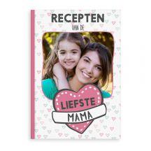 Moederdag receptenboek bedrukken - A4 - Hardcover