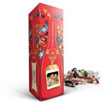 Celebrations fles in gepersonaliseerde giftbox