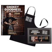 Smokey Goodness BBQ boek - Cadeaupakket voor papa's