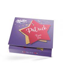 Zeg het met Milka giftbox bedrukken - Kerst
