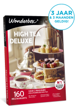 Wonderbox high tea deluxe