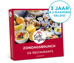 Gift for you zondagsbrunch