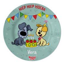 Woezel & Pip bordje bedrukken - Verjaardag