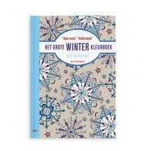 Het grote winter kleurboek voor volwassenen - Softcover