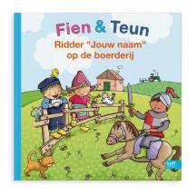 Boek - Fien, Teun & Ridder op de boerderij