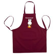 nijntje keukenschort bedrukken - Bordeaux