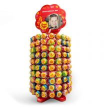 Gepersonaliseerde Chupa Chups Toren - 200 lolly's