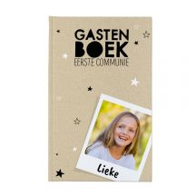 Communie gastenboek bedrukken - Hardcover