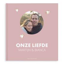 Momenten fotoboek - Onze liefde