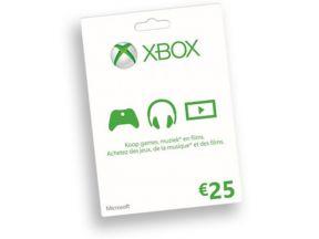 Xbox Live prepaid card 25 Euro