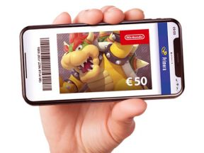 €50,- Nintendo Code