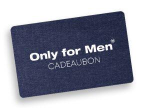 Only for Men Cadeaukaart