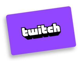 Twitch digitale code