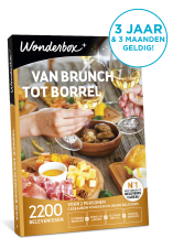 Wonderbox van brunch tot borrel