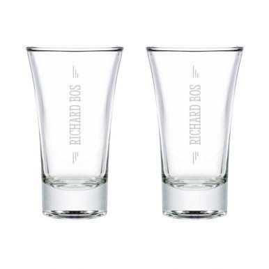 Shotglas graveren (2 stuks)