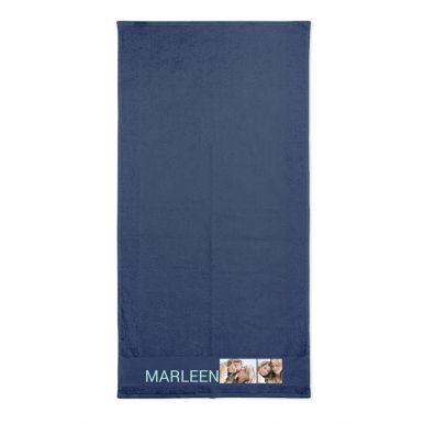 Handdoek bedrukken - Navy