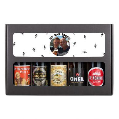 Vaderdag bierpakket bedrukken - Belgisch