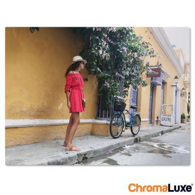 Foto op aluminium afdrukken - Wit (ChromaLuxe) - 20 x 15 cm