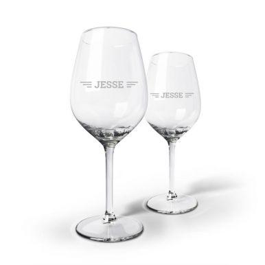 Wijnpakket met glazen