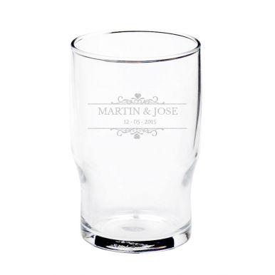 Waterglas graveren