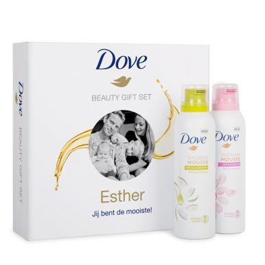 Dove geschenkset maken - Shower mousse