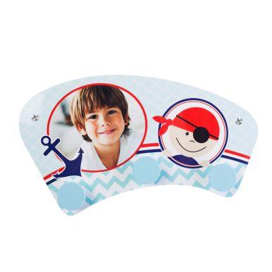 Kinderkapstok bedrukken - Ronde knopjes