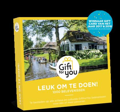 Gift For You Leuk om te doen!