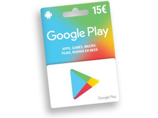 €15 Google Play Gift Card