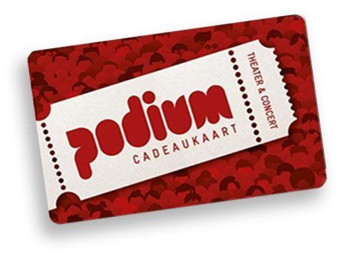Podium-Cadeaukaart-