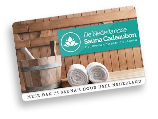 De Nederlandse Sauna Cadeaubon