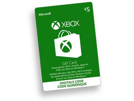 €5,--Xbox-Digital-Gift-Card
