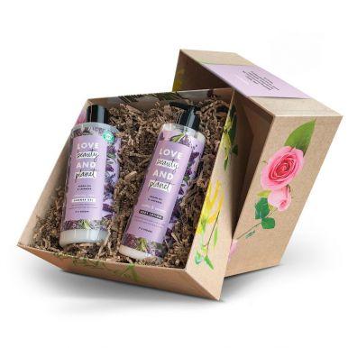 Love, Beauty & Planet geschenkset maken - Argan Oil & Lavender